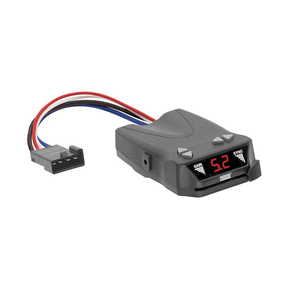 Reese Brakeman Iv Brake Controller Control Module Trailer Brakes Towing Kit Box System Truck Car Suv 83504