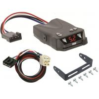 Trailer Brake Control for 14-19 Chevy Silverado GMC Sierra 1500 w/ Plug Play Wiring Adapter Reese Brakeman IV Eletric Trailer Brakes Module Box Controller