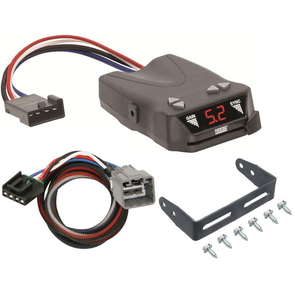 trailer brake control for 14 19 jeep cherokee w plug play wiring trailer brake control for 14 19 jeep cherokee w plug play wiring adapter reese brakeman iv