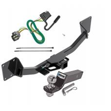 "Reese Trailer Tow Hitch For 17-20 GMC Acadia Complete Package w/ Wiring and 2"" Ball"