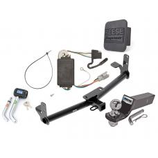 "Reese Trailer Tow Hitch For 05-06 Chevy Equinox 06 Pontiac Torrent Deluxe Package Wiring 2"" Ball and Lock"