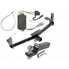 "Reese Trailer Tow Hitch For 05-06 Chevy Equinox 06 Pontiac Torrent Complete Package w/ Wiring and 2"" Ball"