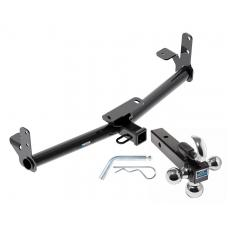 "Reese Trailer Tow Hitch Receiver For 05-17 Chevy Equinox 10-17 GMC Terrain w/Tri-Ball Triple Ball 1-7/8"" 2"" 2-5/16"""
