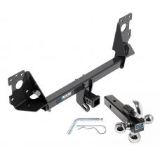 "Reese Trailer Tow Hitch Receiver For 17-19 Audi Q7 w/Tri-Ball Triple Ball 1-7/8"" 2"" 2-5/16"""