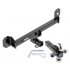 "Reese Trailer Tow Hitch Receiver For 16-18 Mercedes GLC300 w/Tri-Ball Triple Ball 1-7/8"" 2"" 2-5/16"""
