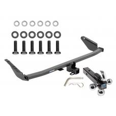 "Reese Trailer Tow Hitch Receiver For 11-19 Toyota Sienna w/Tri-Ball Triple Ball 1-7/8"" 2"" 2-5/16"""