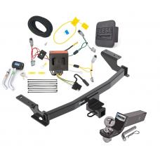 "Reese Trailer Tow Hitch For 13-16 Mazda CX-5 Deluxe Package Wiring 2"" Ball and Lock"