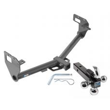 """Reese Trailer Tow Hitch Receiver For 17-19 Jeep Compass New Body Style w/Tri-Ball Triple Ball 1-7/8"""" 2"""" 2-5/16"""""""