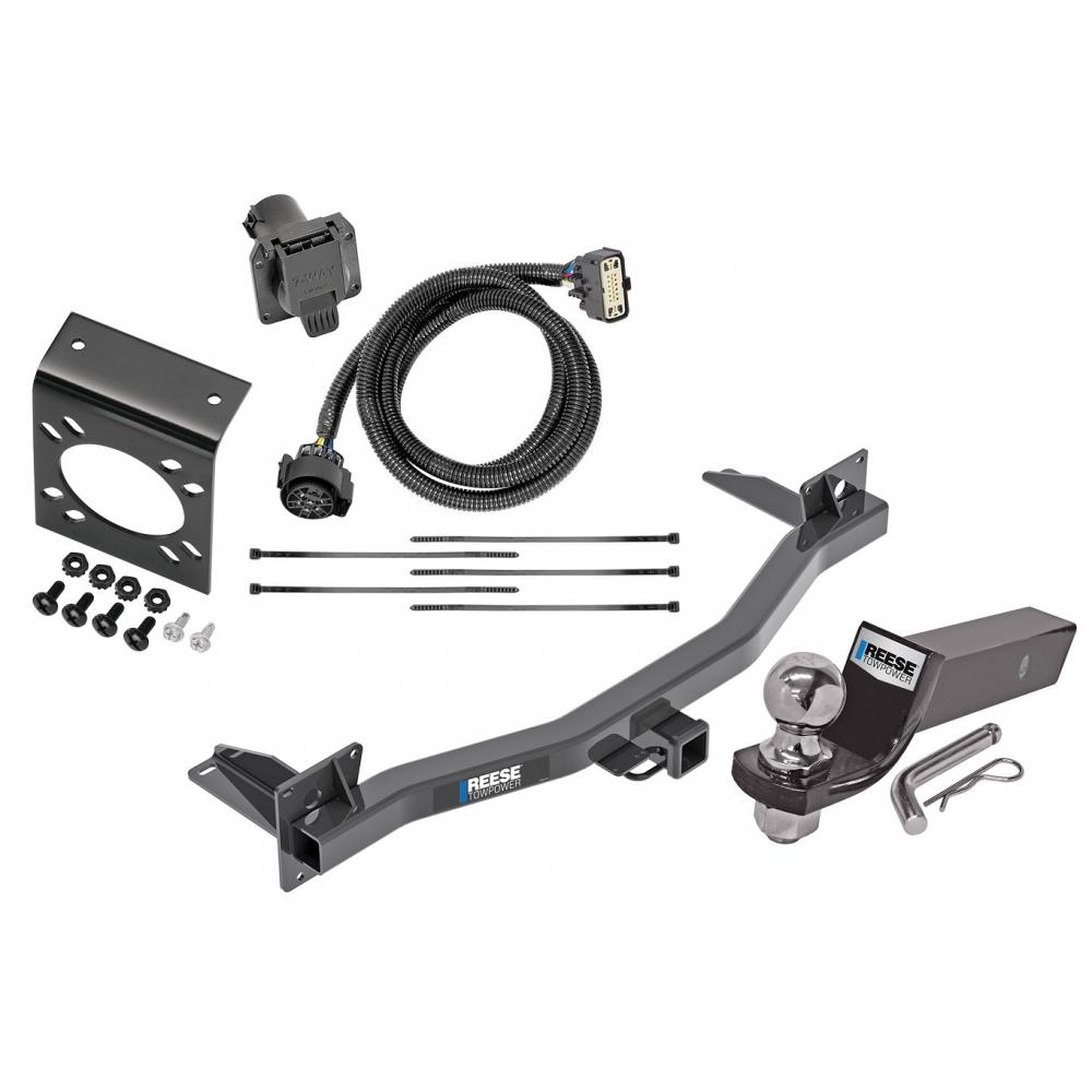 Reese Complete Tow Package For 18-20 Chevy Traverse Buick ...
