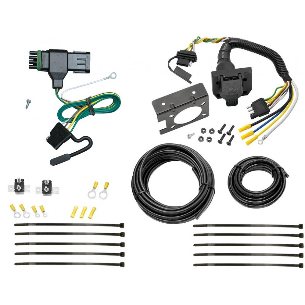 88-00 Chevy GMC C1500 C2500 C3500 K1500 K2500 K3500 7 Way RV Trailer Wiring  Plug Prong Pin Brake Control ReadyTrailerJacks.com
