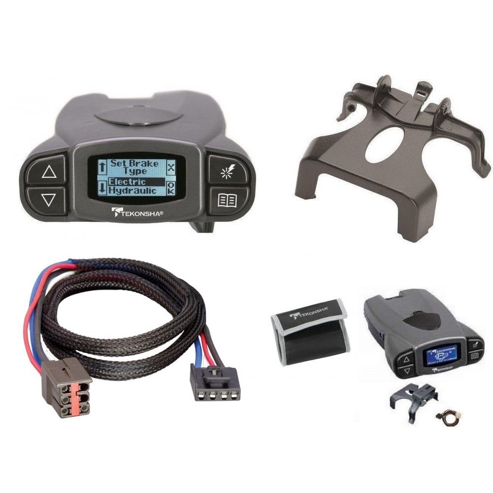 Prodigy Brake Controller >> Tekonsha Prodigy P3 Trailer Brake Control For 02 18 Ford Explorer W Plug Play Wiring Adapter Proportional Eletric Trailer Brakes Module Box