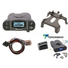 Tekonsha Prodigy P3 Trailer Brake Control for 03-06 Cadillac Escalade 03-06 Escalade ESV EXT w/ Plug Play Wiring Adapter Proportional Eletric Trailer Brakes Module Box Controller