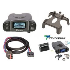 Tekonsha Prodigy P3 Trailer Brake Control for 00-05 Ford Excursion w/ Plug Play Wiring Adapter Proportional Eletric Trailer Brakes Module Box Controller