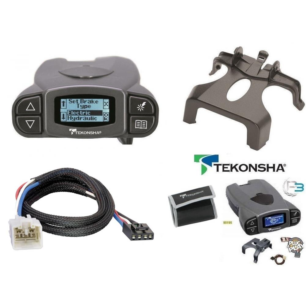 Tekonsha Prodigy P3 Trailer Brake Control for 03-09 Lexus GX470 03
