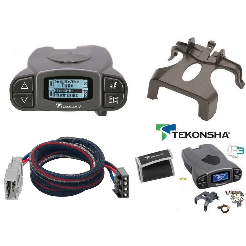 Tekonsha Prodigy P3 Trailer Brake Control For 07-13 Acura