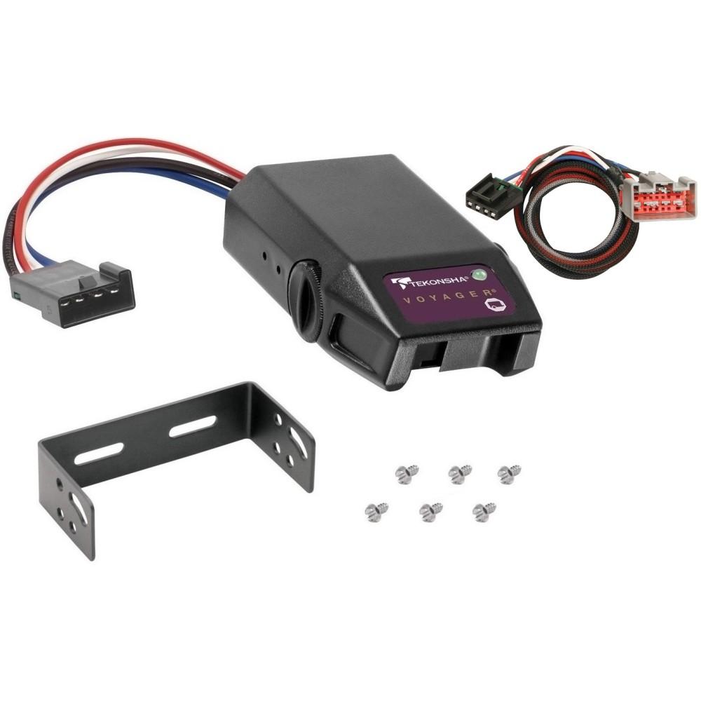 Tekonsha Brake Controller >> Trailer Brake Control For 08 16 Ford F 250 F 350 F 450 F 550 Super Duty W Plug Play Wiring Adapter Tekonsha Voyager Eletric Trailer Brakes Module Box