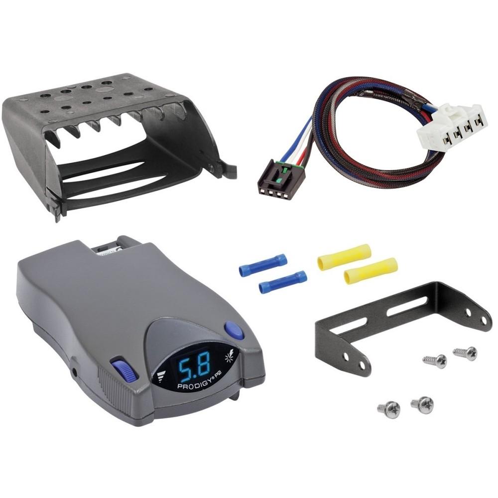 Tekonsha Brake Control Wiring Adapter 2 plugs Dodge