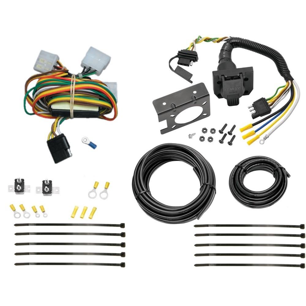 92-97 Isuzu Rodeo 94-97 Honda Passport 7 Way RV Trailer Wiring Plug Prong  Pin Brake Control ReadyTrailerJacks.com