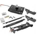 """Draw-Tite Gooseneck Trailer Hitch for 99-16 Ford F250 F350 Turnover w/ Brackets Rails Under Bed 2-5/16"""" Ball"""