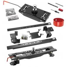"Draw-Tite Gooseneck Trailer Hitch w/ Hole Saw for 07-17 Toyota Tundra Turnover w/ Brackets Rails Under Bed 2-5/16"" Ball"