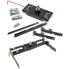 """Draw-Tite Gooseneck Trailer Hitch for 04-14 Ford F150 F-150 Turnover w/ Brackets Rails Under Bed 2-5/16"""" Ball"""