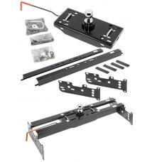 "Draw-Tite Gooseneck Trailer Hitch for 88-00 Chevy GMC C/K 1500 2500 3500 Series Turnover w/ Brackets Rails Under Bed 2-5/16"" Ball Excluding 3500 Crew Cab"
