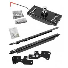 """Draw-Tite Gooseneck Trailer Hitch for 15-19 Ford F150 F-150 Turnover w/ Brackets Rails Under Bed 2-5/16"""" Ball Excluding Raptor"""