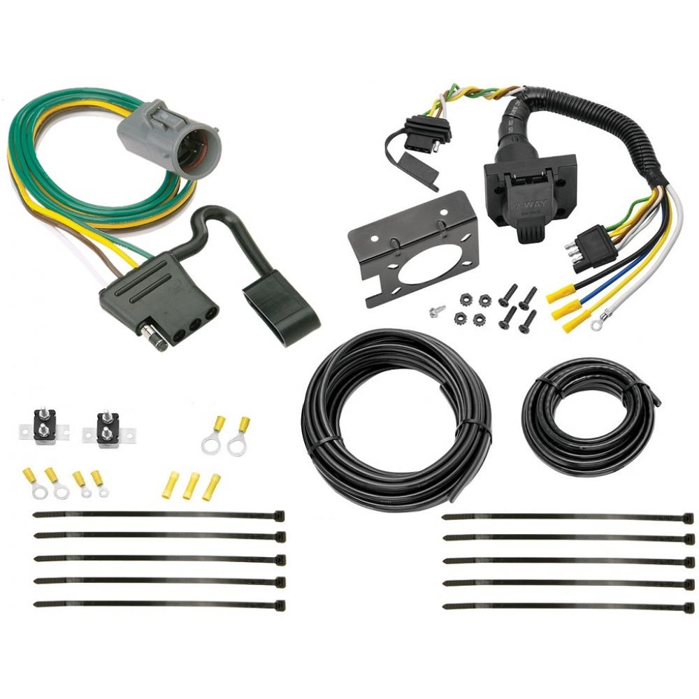 95-01 Ford Explorer 98-99 Ranger 7-Way RV Trailer Wiring Kit Plug Prong Pin  HarnessTrailerJacks.com
