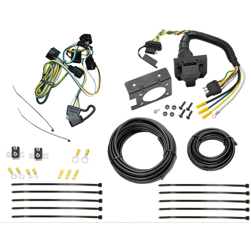 95-02 dodge ram 1500 2500 3500 95-03 dakota 7 way rv trailer wiring plug