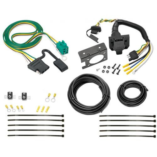 96 03 chevy express gmc savana 7 way rv trailer wiring kit plug rh trailerjacks com rv trailer wiring extension rv trailer wiring schematic