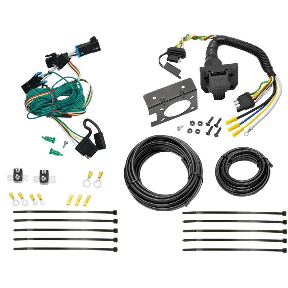 [TBQL_4184]  96-99 Chevy Express GMC Savana 1500 2500 3500 7 Way RV Trailer Wiring Plug  Prong Pin Brake Control Ready | Chevrolet Express Trailer Wiring |  | TrailerJacks.com