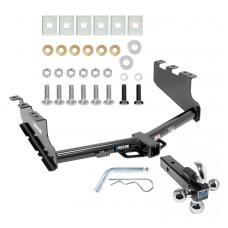 "Reese Trailer Tow Hitch Receiver For 14-18 Chevy Silverado GMC Sierra 2019 Legacy and Limited w/Tri-Ball Triple Ball 1-7/8"" 2"" 2-5/16"""