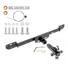 "Trailer Tow Hitch Receiver For 14-19 RAM 1500 2500 3500 w/Tri-Ball Triple Ball 1-7/8"" 2"" 2-5/16"""