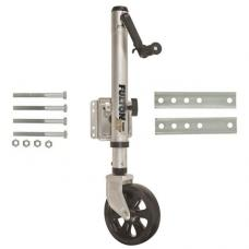 Fulton XLT Trailer Jack Swivel Bolt On, 1,500 lbs. Sidewind TruTurn 360 Castering