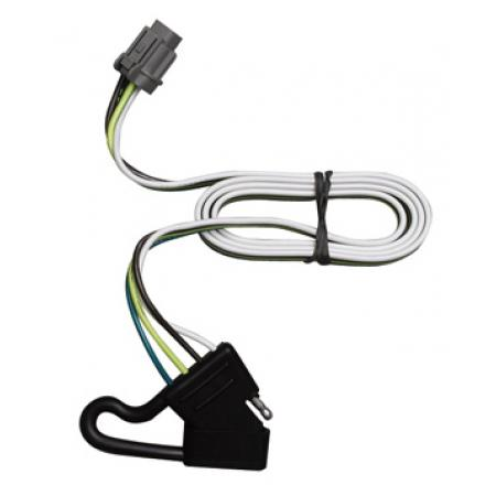 Trailer Wiring Harness Kit For 00-04 Nissan Xterra w/Factory Tow Package