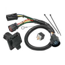 7-Way RV Trailer Wiring Harness Kit For 2004 Ford F-150 w/Factory 4-Flat