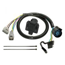 7-Way/4-Flat Combo Trailer Wiring Harness Kit 10-14 Lexus GX460 10-11 Toyota 4Runner