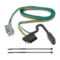 Trailer Wiring Harness Kit For 10-17 Chevy Equinox GMC Terrain w/Factory Tow Package
