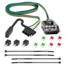 13-17 Buick Enclave Chevy Traverse GMC Acadia Trailer Wiring Light Harness Plug Kit