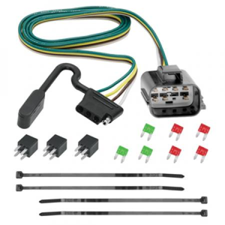 Trailer Wiring Harness Kit For 2018 Traverse Limited 13-17 Chevy Traverse Buick Enclave GMC Acadia