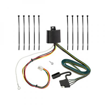 Trailer Wiring Harness Kit For 16-19 Mazda CX-9 w/Factory Tow Package