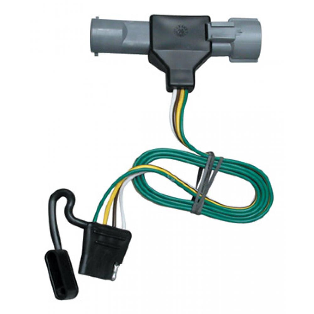 Trailer Wiring Harness Kit For 87-96 Ford F-150 F-250 F ...