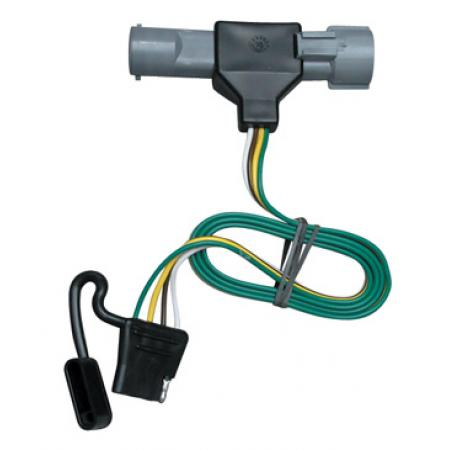 Trailer Wiring Harness Kit For 87-96 Ford F-150 F-250 F-350 (1997 Heavy Duty)