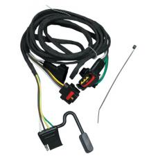 Trailer Wiring Harness Kit For 91-95 Chrysler Town Country Dodge Caravan Grand Caravan Plymouth Grand Voyager 03-10 Dakota 06-09 Mitsubishi Raider 2011 Ram Dakota