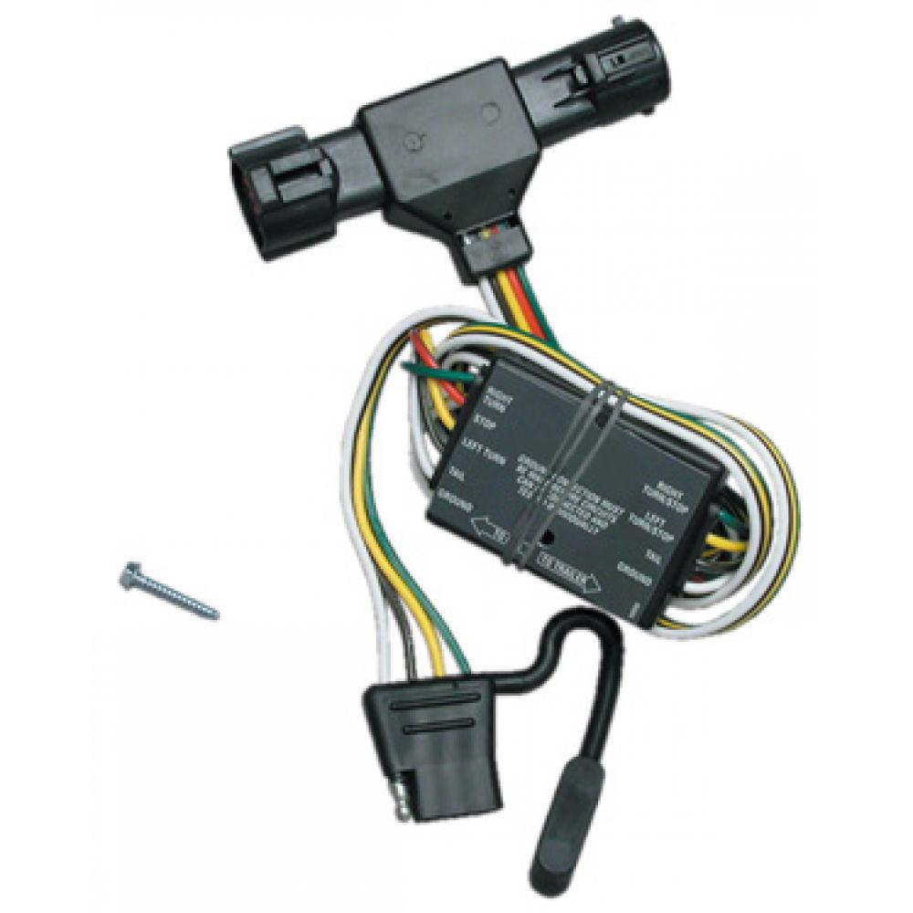 Trailer Wiring Harness Kit For 93-99 Ford Ranger 94-09 Mazda B2300 2500  3000 4000TrailerJacks.com