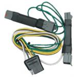 Trailer Wiring Harness Kit For 92-97 Ford Crown Victoria Mercury Grand Marquis 94-04 Ford Mustang Except Cobra SVT