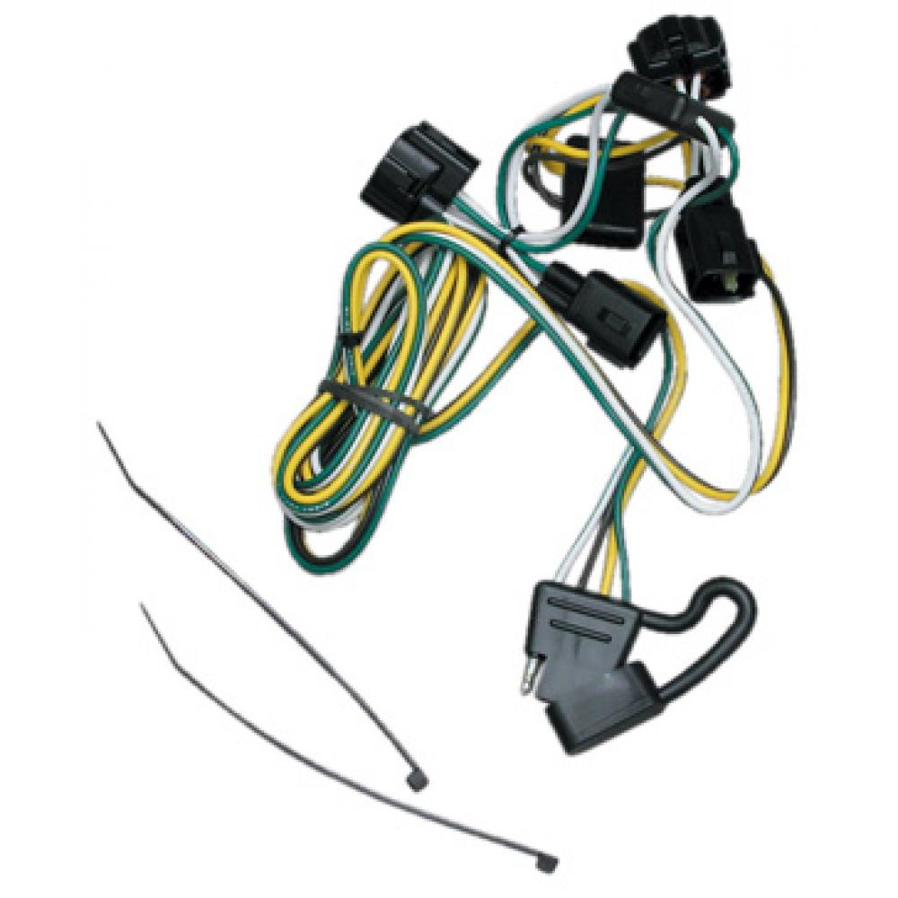 Trailer Wiring Harness Kit For 95-03 Dakota 95-02 Dodge Ram 1500 2500 3500  4000TrailerJacks.com