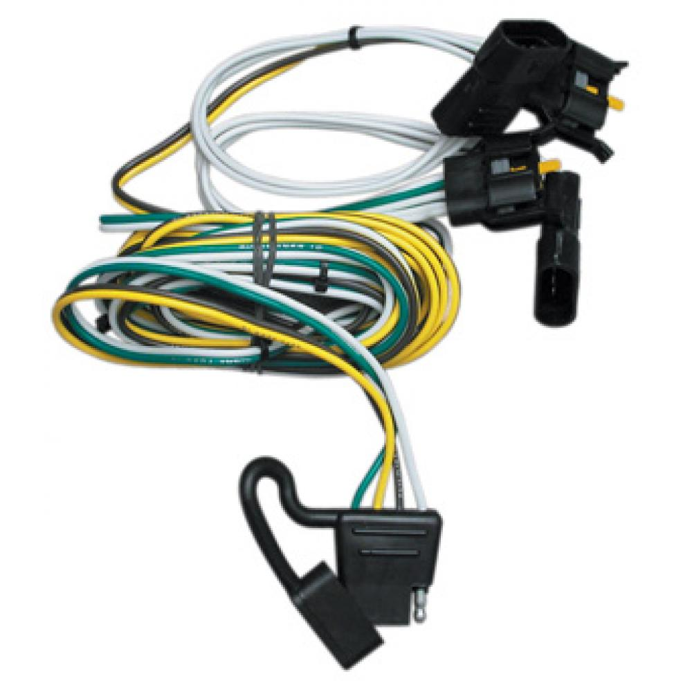 Trailer Wiring Harness Kit For 00-03 Ford Ranger 95-02 Van 97-03 F-150  Expedition 01-03 Explorer Lincoln NavigatorTrailerJacks.com