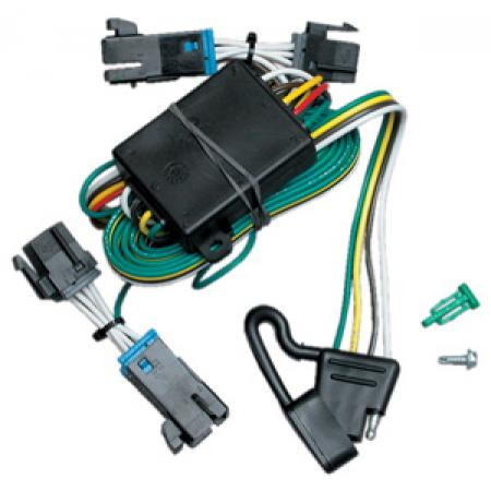 Trailer Wiring Harness Kit For 00-02 Chevy Express GMC Savana 1500 2500 3500