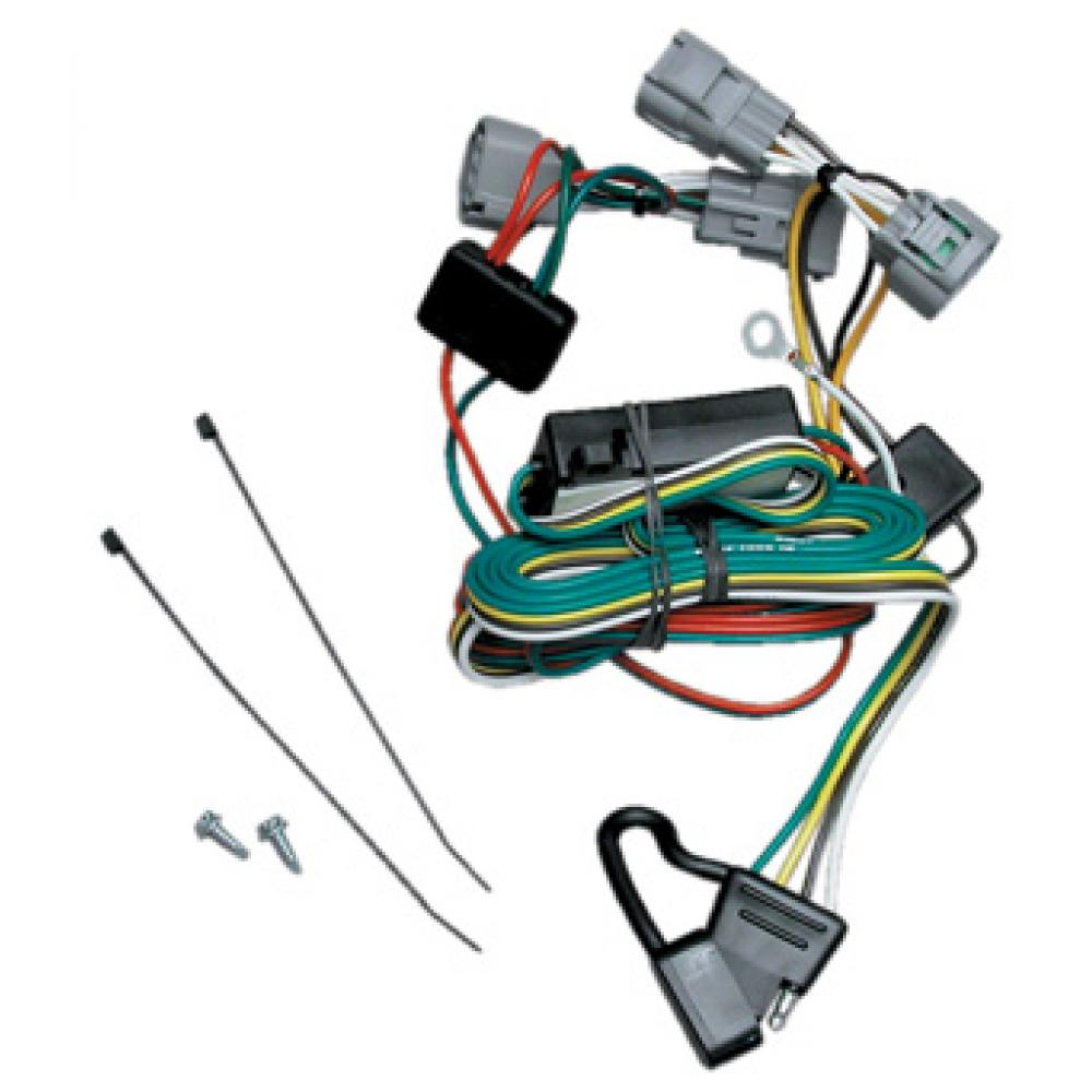 trailer wiring harness kit for 01 06 mitsubishi montero. Black Bedroom Furniture Sets. Home Design Ideas